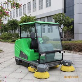驾驶式电动扫地车玛西尔DQS18A 小区景区厂区用大型电动扫地机