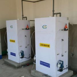 二氧化氯发生器项目案例/高温反应水消毒设备