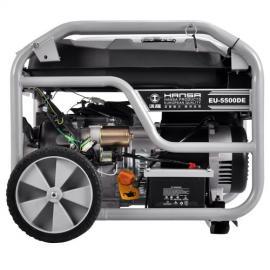 EU-5500DE汽油发电机5000瓦