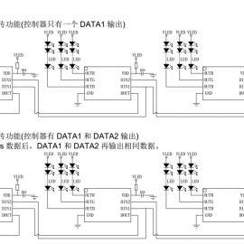 MT3111 三通道归零码LED恒流驱动芯片断点续传广泛用于景观灯带