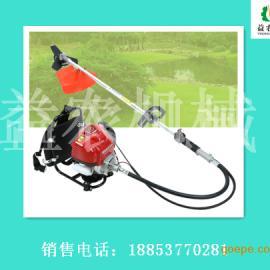 辽宁益农背负式小型割草机 柴油带割草机设备出厂价格