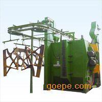 悬链式抛丸机吊挂式钢构造件抛丸除锈机