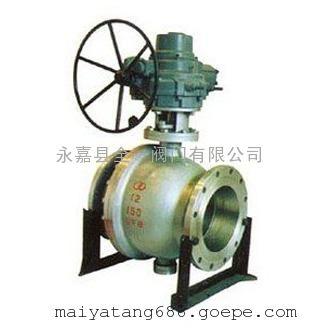 Q947F固定电动球阀,高压固定式球阀,固定球阀厂家