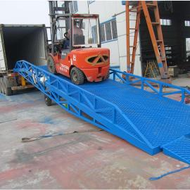 大量回收叉车装卸平台 集装箱卸货平台