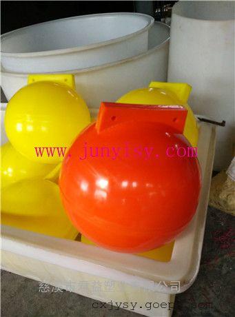 直径30公分海上警示塑料浮球 直径40公分区域划分浮球