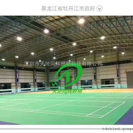 篮球排球场馆专用不刺眼无影防眩LED高棚照明灯具