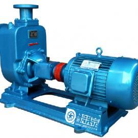 ZW型自吸排污泵65ZW25-40-7.5�o堵塞自吸泵不�P�自吸污水泵