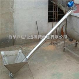 大蒜皮带塑料斗上料机 工地用的提升水泥的上料机01