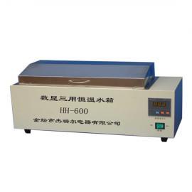 杰瑞尔 数显电热恒温水浴锅 HH-600 防腐蚀不锈钢恒温水浴箱