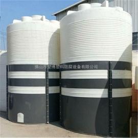 厂家直供3000L卧式水塔 PE水箱塑料储水罐 扫地机专用卧式水塔