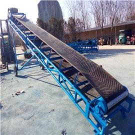 500带宽12米V型托辊皮带机 港口码头装卸货用皮带机