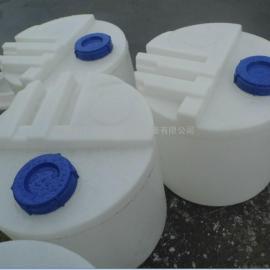 厂家直销200L 圆形PE加药箱 拌桶环保水处理专用加药装置加药箱