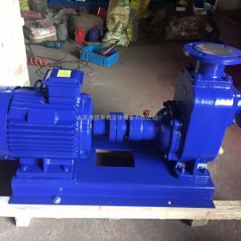 铸铁材质(3KW)ZW卧式分体自吸式无堵塞排污泵40ZW15-30-3KW
