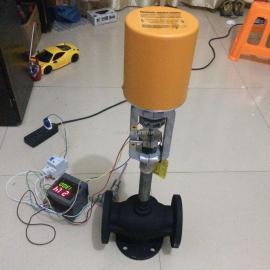 电动自力式智能温控调节阀产品展示