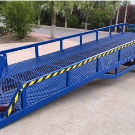 8/10/12吨货物装卸平台手动液压升降登车桥|哪里有现货