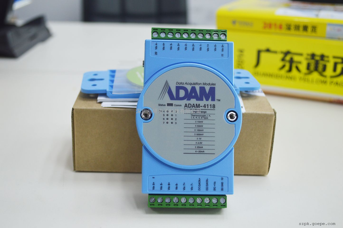 研华ADAM-4118 热电偶模块