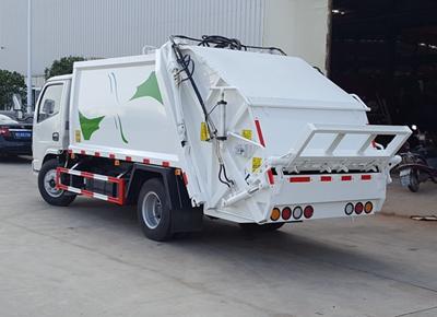 蓝牌东风压缩垃圾车|厂家|价格|现车|批发价