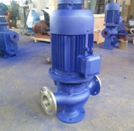 GW铸铁管道式排污泵 不锈钢管道污水泵 防爆管道排污泵制造商