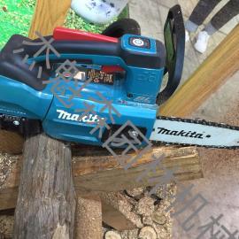 日本makita牧田18V单手电锯DUC204 砍树机 修枝锯 便携式园林锯