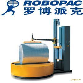 小圆筒状物体薄膜缠绕包装机使用方法