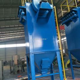 10T锅炉除尘PPC-96-7气箱式布袋脉冲除尘器型号质量泊头蓝科环保