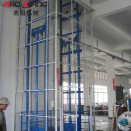 导轨式液压升降货梯 浩翔升降机厂家定制