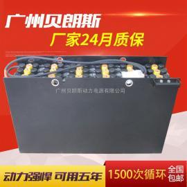 24-7DB630电动叉车电瓶, 江淮叉车蓄电池组