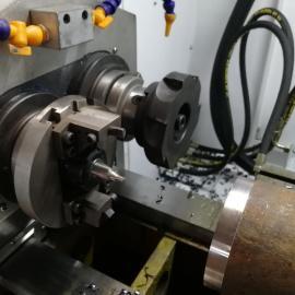 数控铣端面打中心孔机床生产厂家_雷欧机床