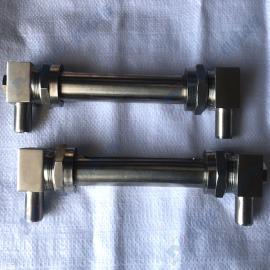 定做焊接石英管式液位� ��焊式石英玻璃管液位� 小型液位�