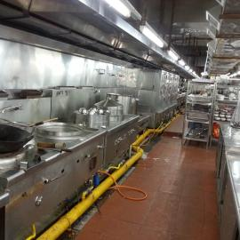 专业安装酒店餐馆厨房排烟风机及静电油烟净化器工程施工