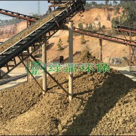 工业洗沙压滤机 污泥脱水机型号批发 选择绿鼎环保