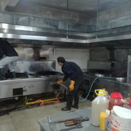 专业维修酒店餐饮业后厨厨房设备及节能厨具炉具炉头维修更换