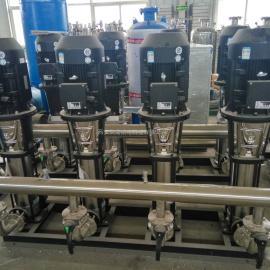 智能型管网叠压供水 生活恒压变频供水设备,无负压变频供水设备