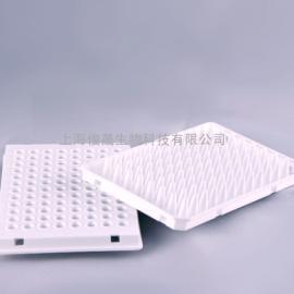 0.1mL低型96孔半裙边PCR板乳白色(适配Roche LC系列)