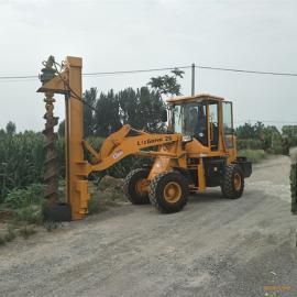 电力钻坑机 铲车改装电线杆打桩机 电线杆打桩机哪里便宜