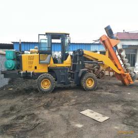 电线杆挖坑机 装载机改装挖坑机栽种电线用 电信杆挖坑机
