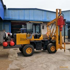 供应装载式护栏立柱钻孔机 液压护栏钻孔机 公路护栏钻孔机厂家