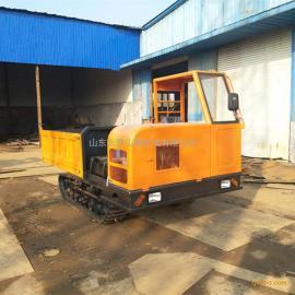 工程履带运输车 农用履带运输车厂家 沼泽地履带式自卸车
