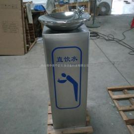 校园单盆户外饮水台中泉不锈钢立式直饮水机