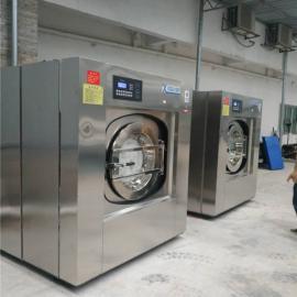 中小酒店洗衣房设备_滚筒式全自动宾馆用洗衣机