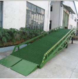 厂家直销10吨仓储物流登车桥\叉车上坡装卸平台