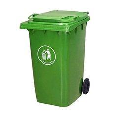 宝应市政垃圾桶-宝应240L垃圾桶-宝应小区塑料挂车桶