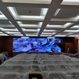无黑边的安防监控画面|55寸PJ2000无缝液晶拼接屏显示方案
