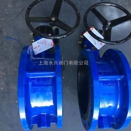 SD341XX-16脱硫专用涡轮手动蝶阀