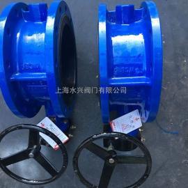 SD341XX-10脱硫专用涡轮手动蝶阀
