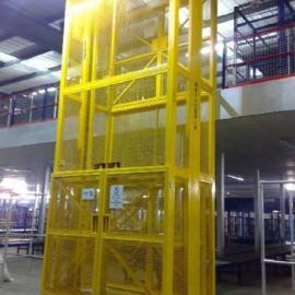 室外导轨式液压升降货梯 起重升降平台