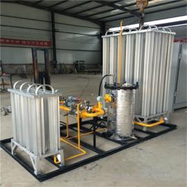 撬装LNG气化调压设备 电加热汽化器 LPG气化调压撬