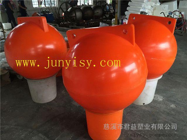 水上警戒隔离浮漂 游乐园围栏pe浮球 颜色定制