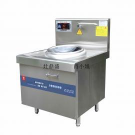新款大功率厨设备商用电磁炉304材质LED闪现屏