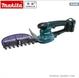 makita牧田UH201D充电式篱笆修剪机锂电池绿篱机电动剪草机